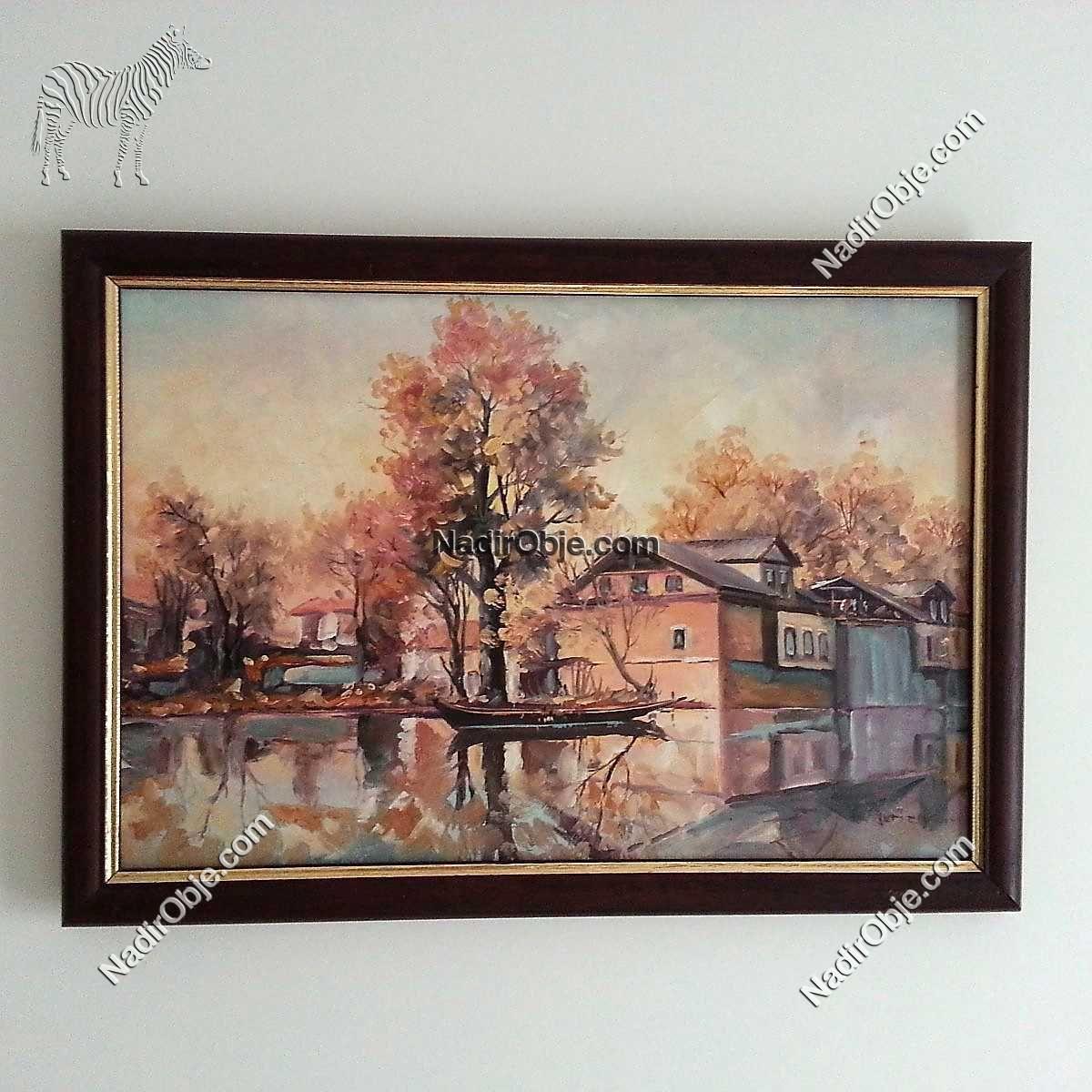 60×40 Yağlı Boya Tablo Diğer Objeler Resim