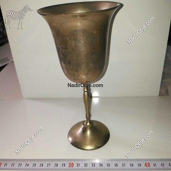 Eski Metal Kadeh Metal Objeler Kadeh