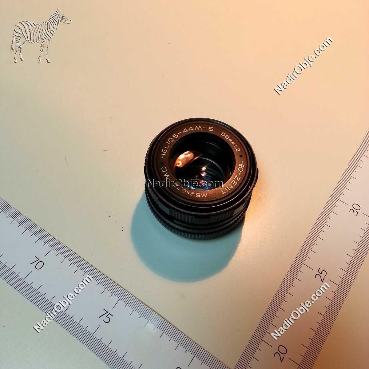 Zenit Lens Cam-Taş Objeler Fotoğraf Makinası
