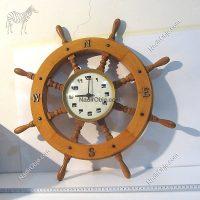 Dümen Formunda Saat Mekanik-Elektrikli Objeler Deniz