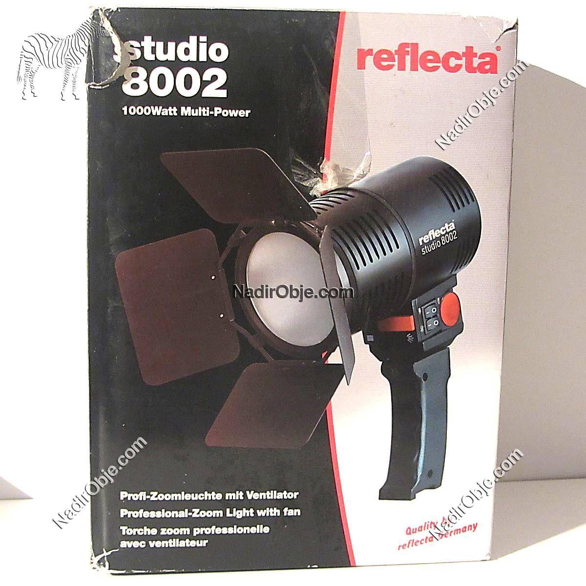 Reflecta 8002 Projektör Mekanik-Elektrikli Objeler Aydınlatma