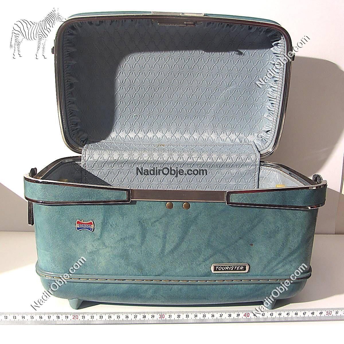 Amerikan Seyahat Bavulu Plastik-Polyester Objeler Bavul