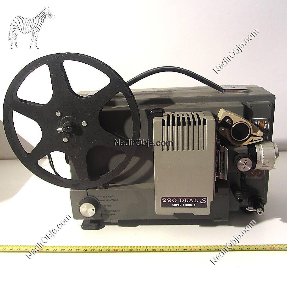 Sinema Makinası Mekanik-Elektrikli Objeler Sinema