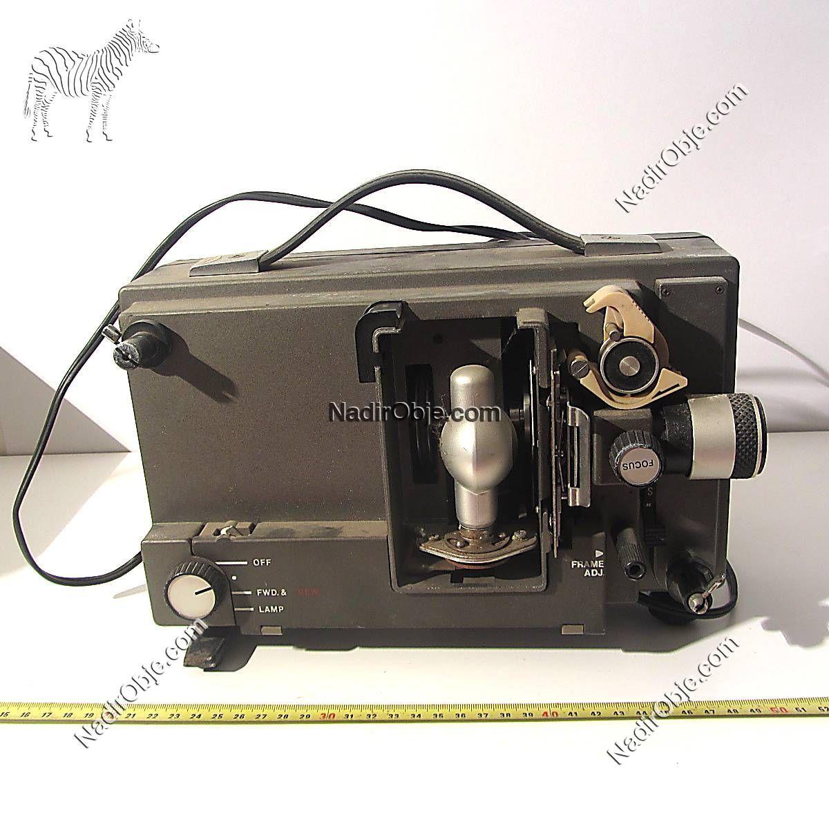 Canon Sinema Makinası Mekanik-Elektrikli Objeler Sinema