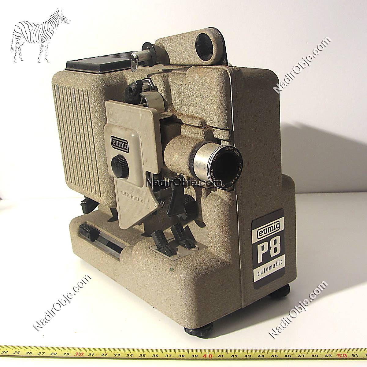 Eumig Sinema Makinası Mekanik-Elektrikli Objeler Eumig