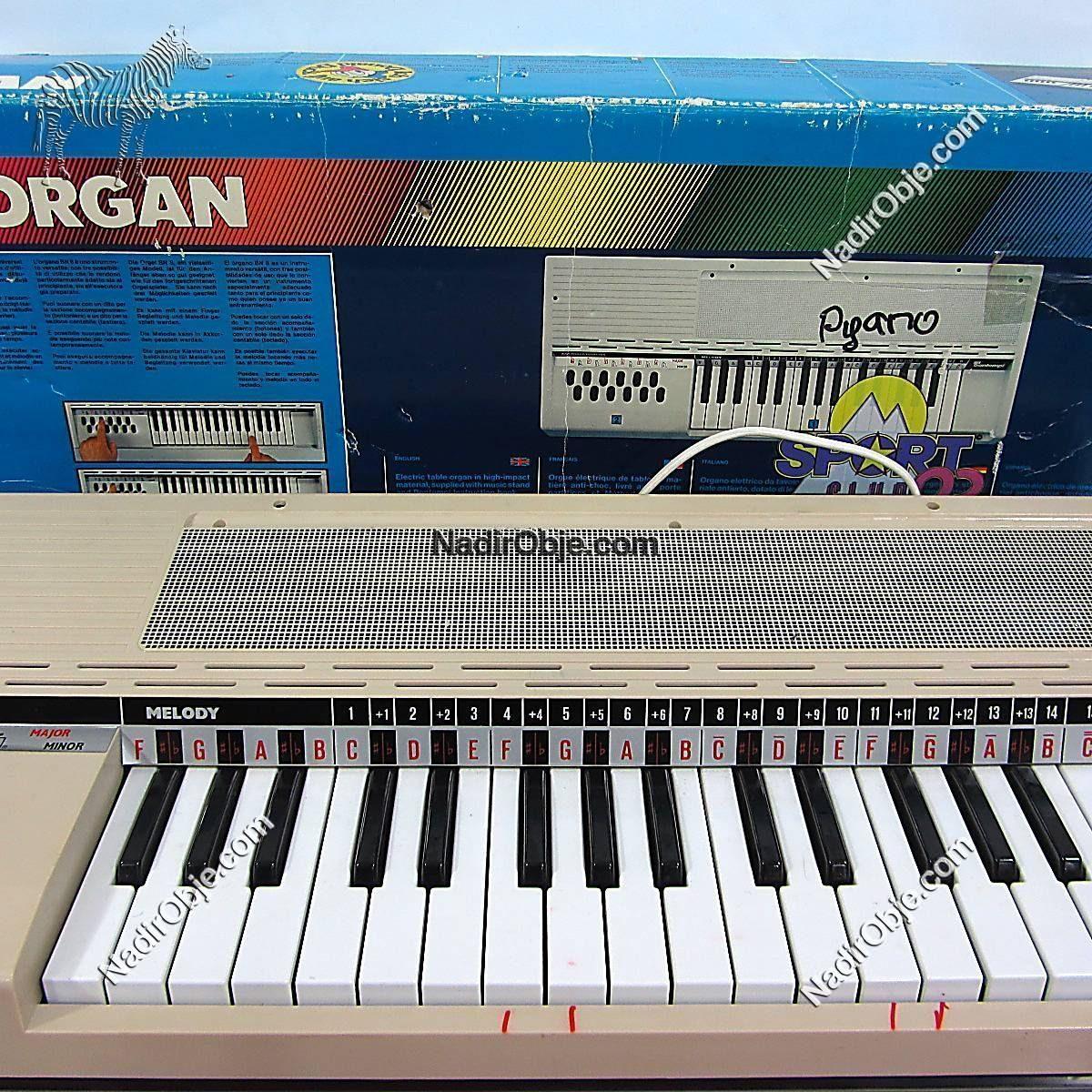 Bontempi N8 Organ Mekanik-Elektrikli Objeler Bontempi