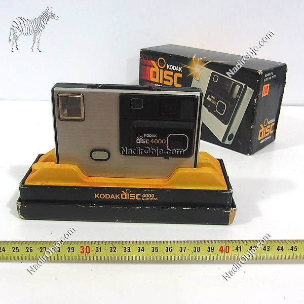 Kodak Disc 4000 Plastik-Polyester Objeler CD