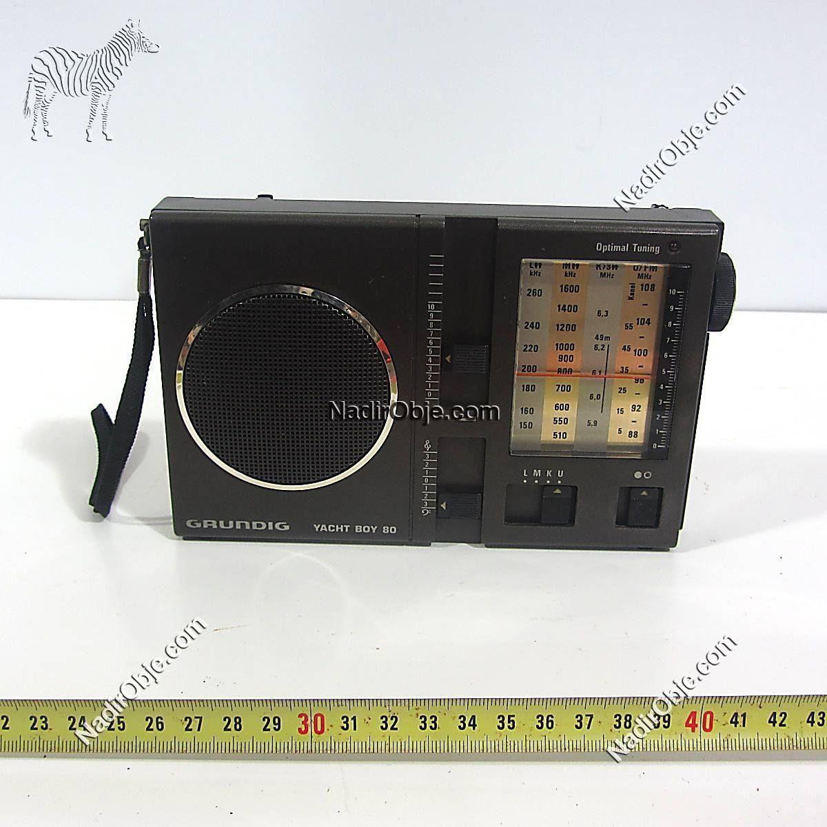 Grundig Radyo Mekanik-Elektrikli Objeler Grundig