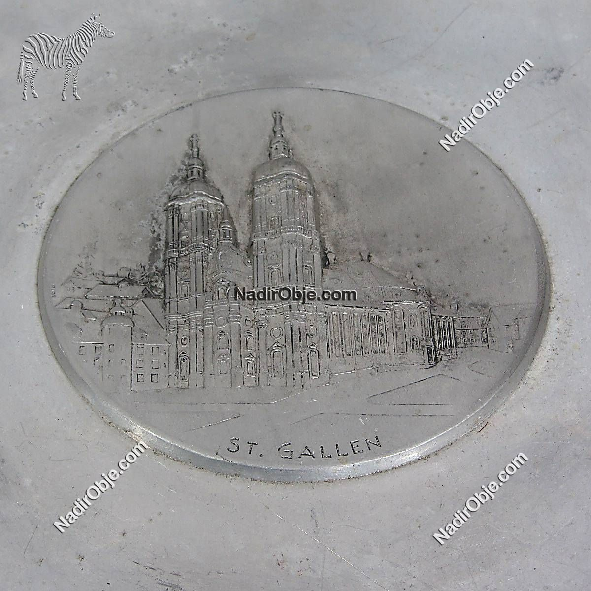 Gallen Tabak Metal Objeler Aluminyum