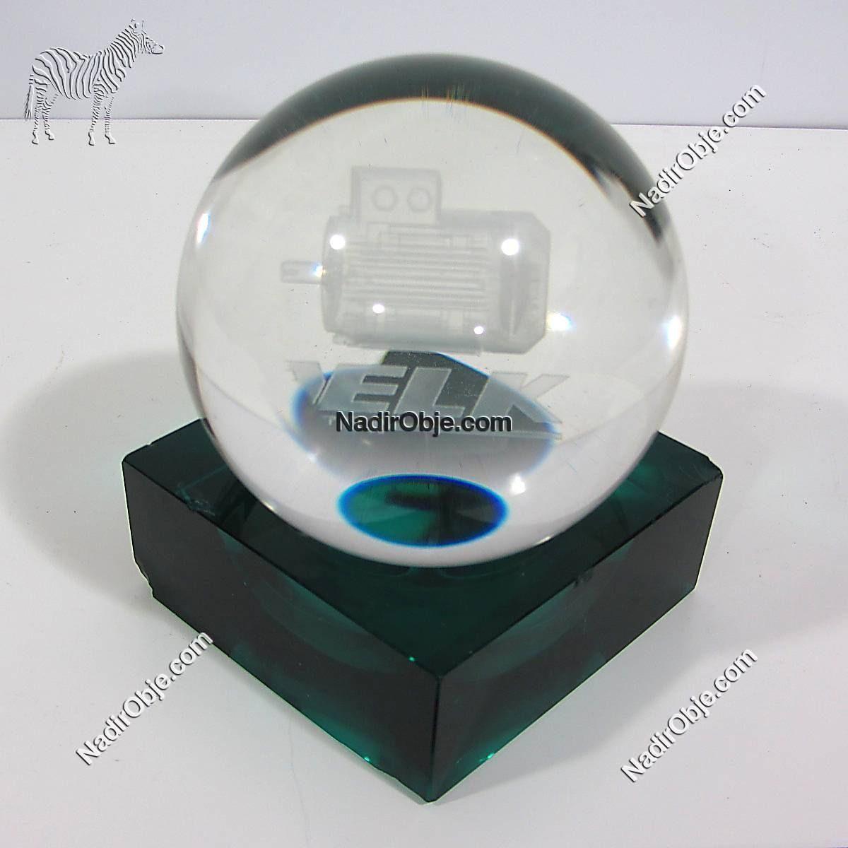 Cam Küre Cam-Taş Objeler 3D