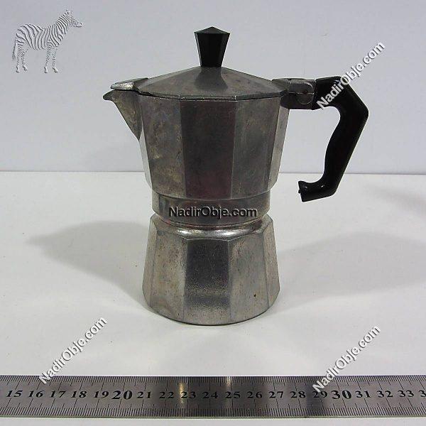 Elektrikli Kahve Makinası Mekanik-Elektrikli Objeler Aluminyum