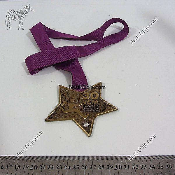 Maraton Madalyası Metal Objeler Madalya