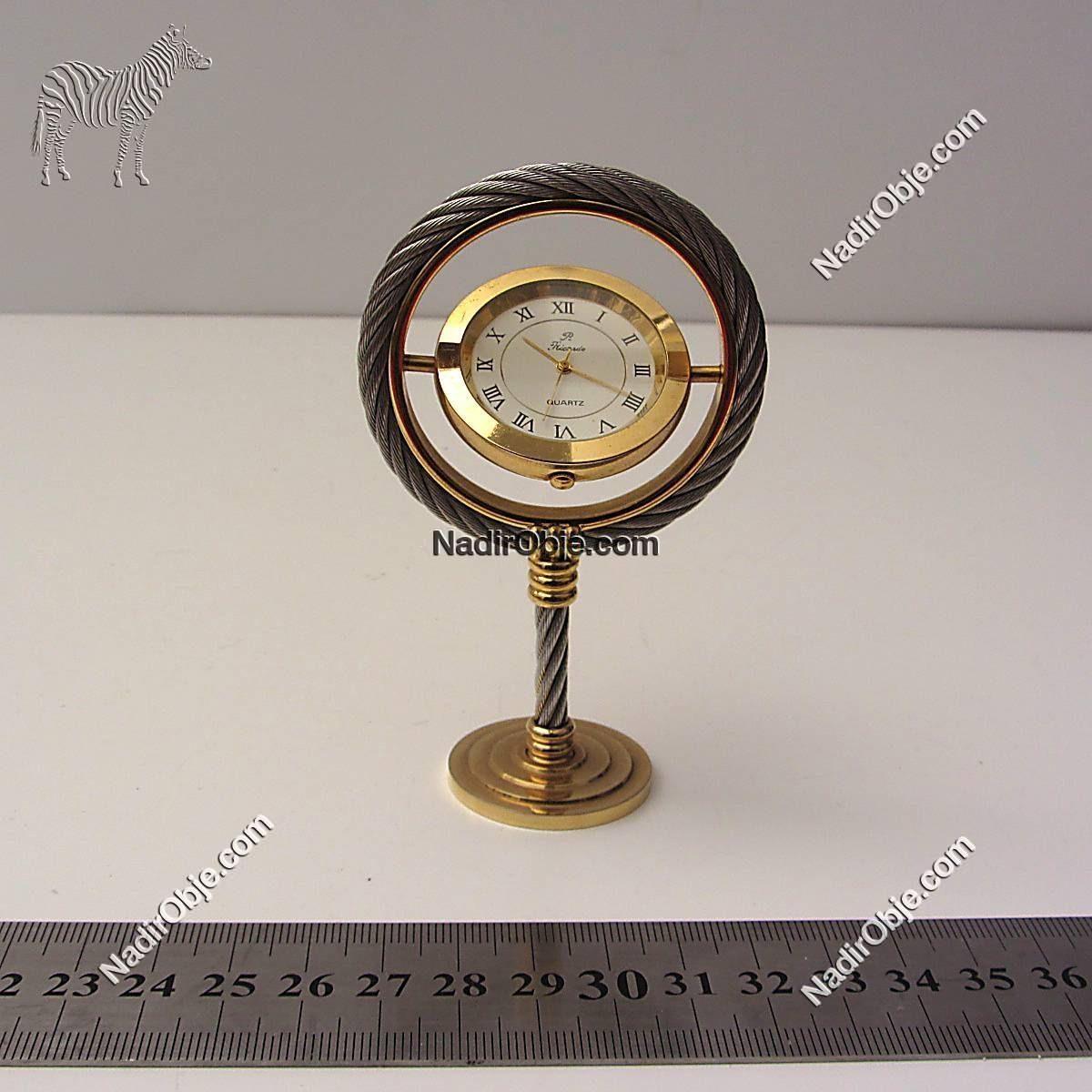 Masa Saati Mekanik-Elektrikli Objeler Masa