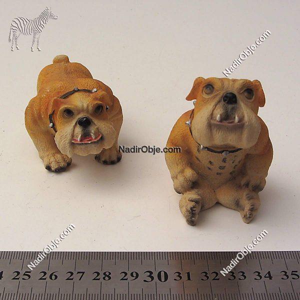Köpek Figürü Cam-Taş Objeler Figür