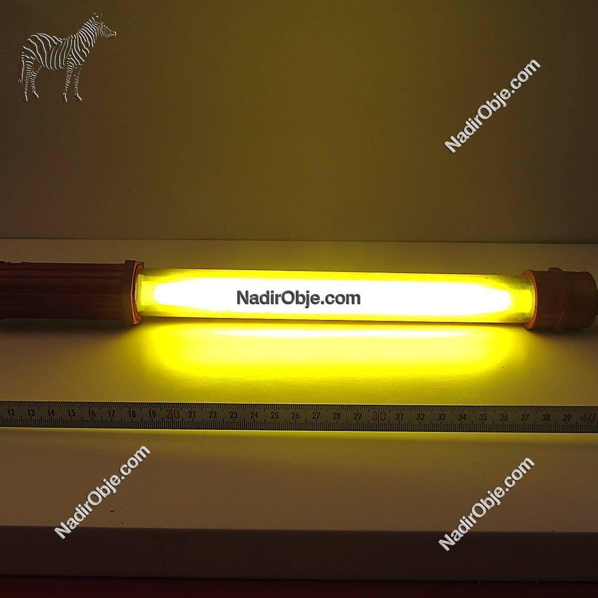 Bosch Sarı Seyyar Lamba Mekanik-Elektrikli Objeler Aydınlatma