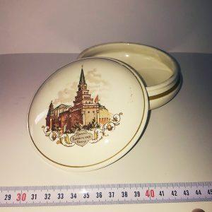 Eski Seramik Kutu Seramik-Porselen Objeler Kilise