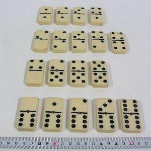 Jumbo Domino Takımı Taşları Plastik-Polyester Objeler Domino