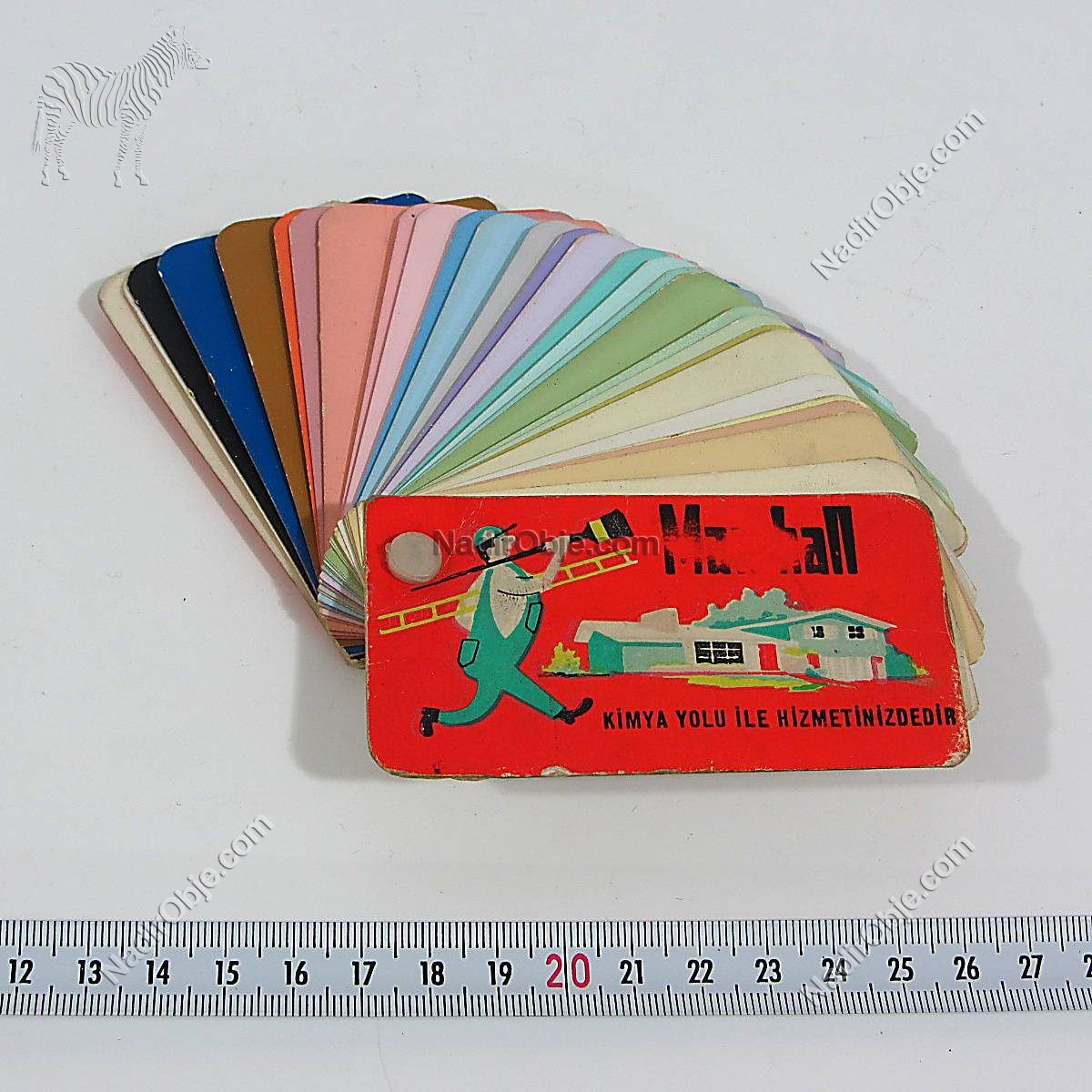 Marshall Renk Kartelası Diğer Objeler Marshall