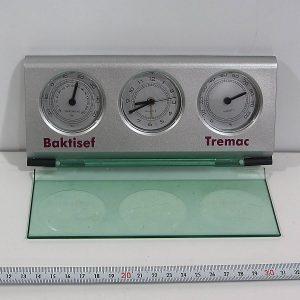 Masaüstü Saat-Termometre Plastik-Polyester Objeler İlaç