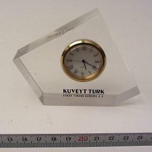 Banka Promosyonu Masa Saati Metal Objeler Promosyon