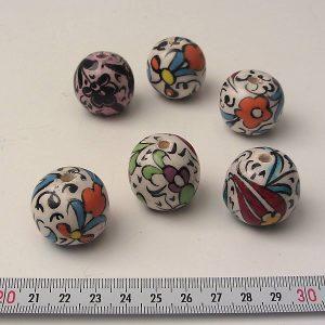 Porselen Boncuklar Seramik-Porselen Objeler Boncuk