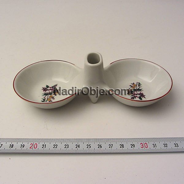 Porselen Baharatlık Seramik-Porselen Objeler Baharatlık