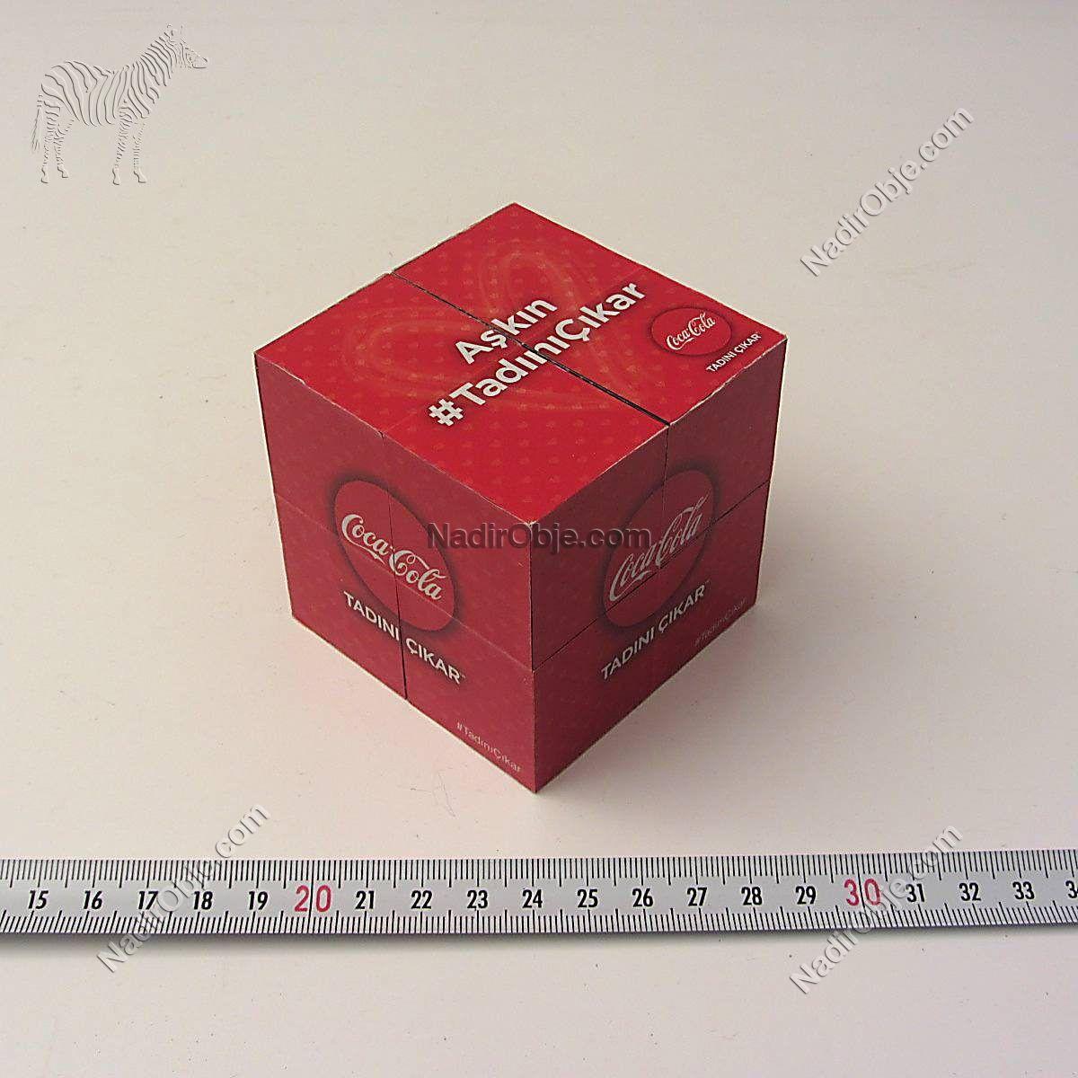 Coca Cola Sihirli Küp Diğer Objeler Coca Cola