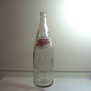 Pepsi 1 Litre Cam Şişe Cam-Taş Objeler Cam