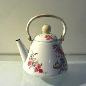 Emaye Çaydanlık Metal Objeler Çaydanlık
