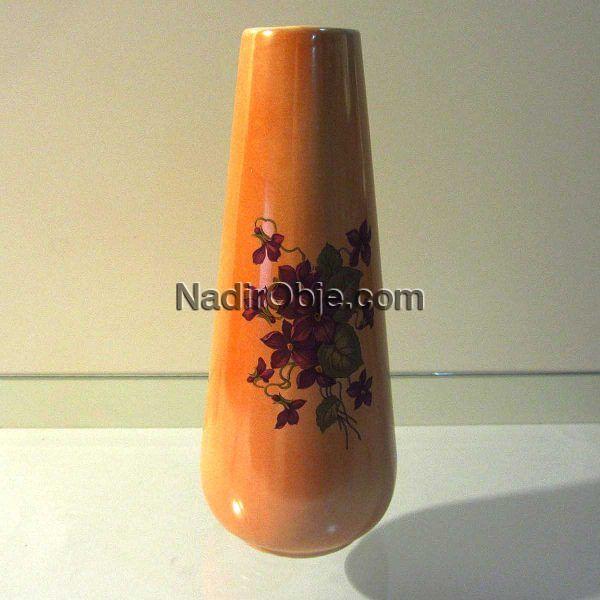Sümerbank Vazo Seramik-Porselen Objeler Porselen