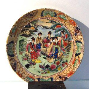 El Boyama Poselen Tabak Seramik-Porselen Objeler Çin