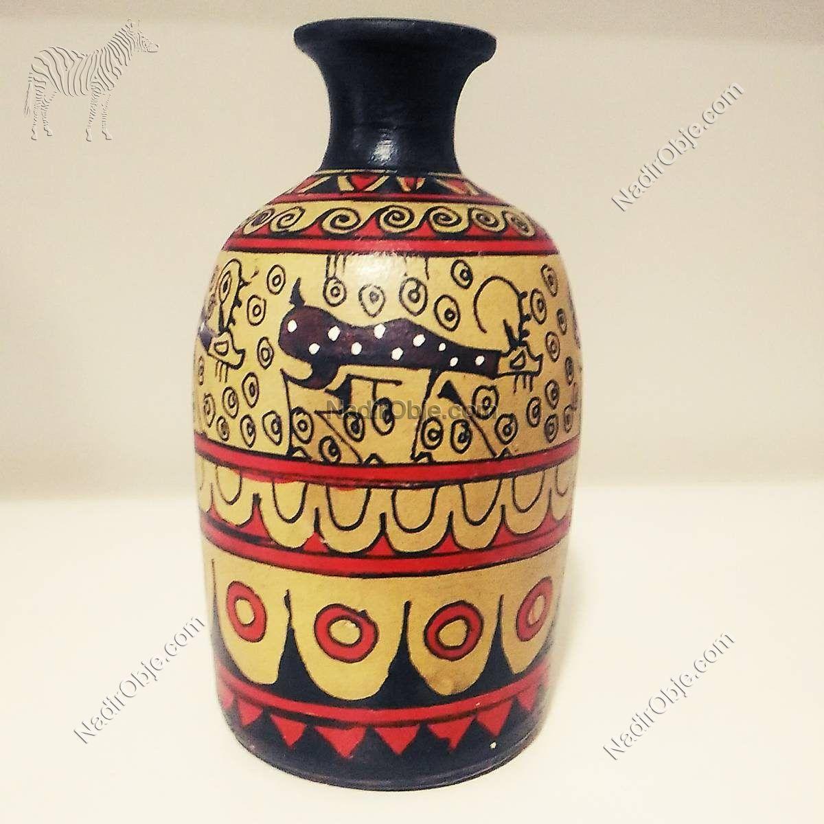 Seramik Vazo Seramik-Porselen Objeler Afrika