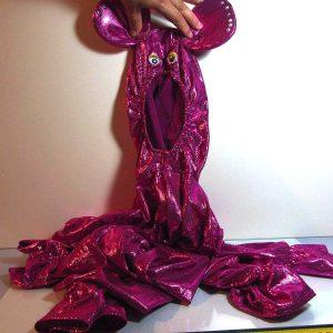 Tavşan Çocuk Kostümü Deri-Kumaş-Tekstil Çocuk