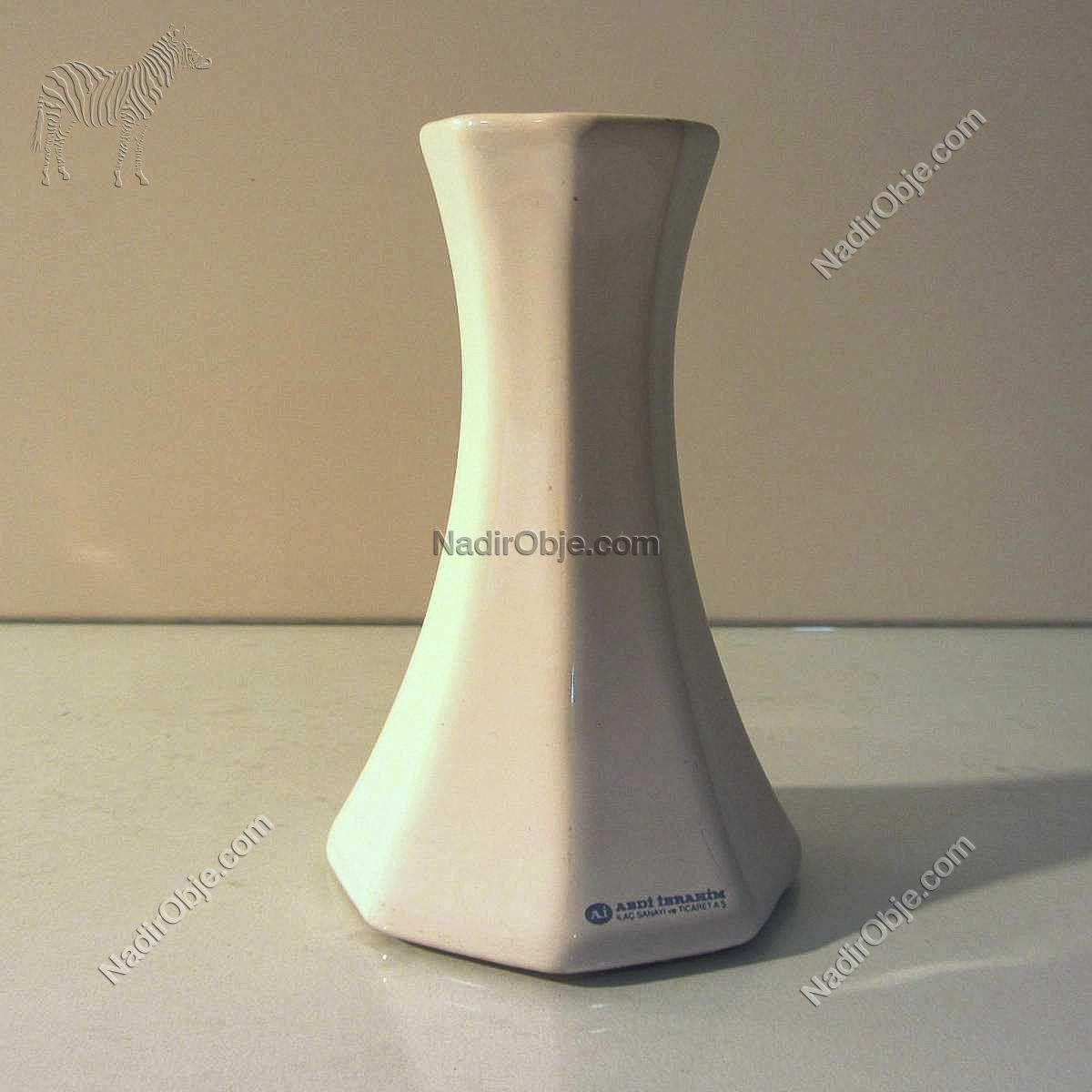 İlaç Promosyonu Porselen Vazo Seramik-Porselen Objeler İlaç