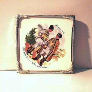 Romanya Hatırası Seramik Fayans Seramik-Porselen Objeler Fayans