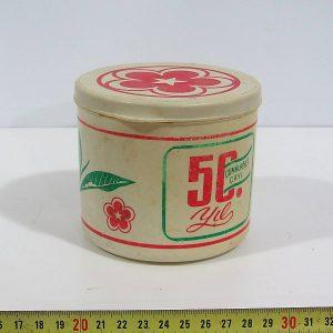 Çay-Kur 50.yıl Kutu Plastik-Polyester Objeler Çay