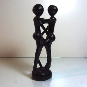 Kadın & Erkek Figürü Ahşap Objeler Aşk