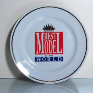 Best Model of The World Tabak Seramik-Porselen Objeler Best Model