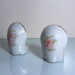 2 Adet Porselen Sabunluk Seramik-Porselen Objeler Diana