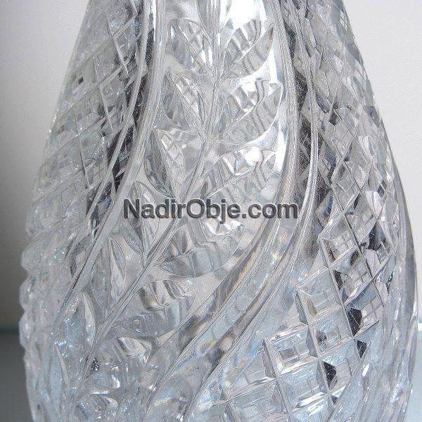 Kristal Karaf Cam-Taş Objeler Cam
