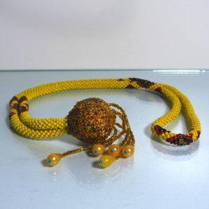 Boncuk Tesbih (46 cm) Cam-Taş Objeler Boncuk