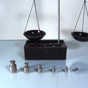 Portatif Mini Terazi Metal Objeler Ağırlık