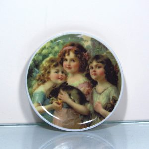 Mini Süs Tabağı Seramik-Porselen Objeler Bavaria
