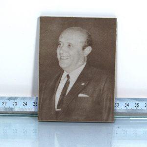 Formika Demirel Portresi Ahşap Objeler Ahşap