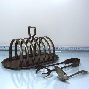 Metal Peçetelik ve Şekerlik Metal Objeler İngiliz