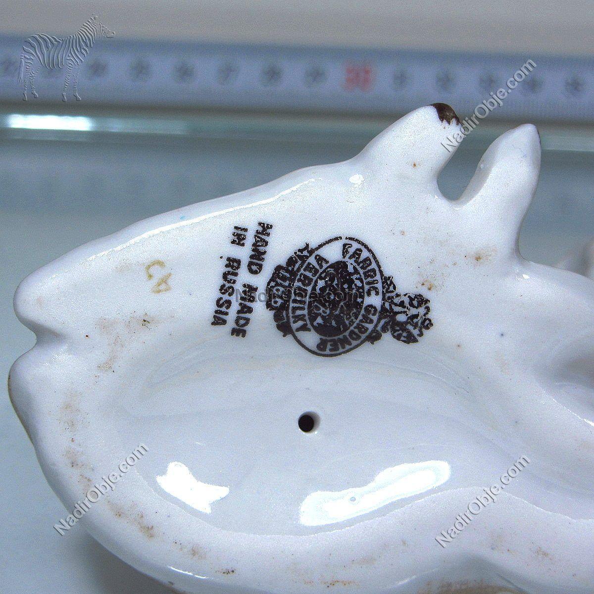 Rus El Yapımı Ceylan Figürü Seramik-Porselen Objeler Ceylan