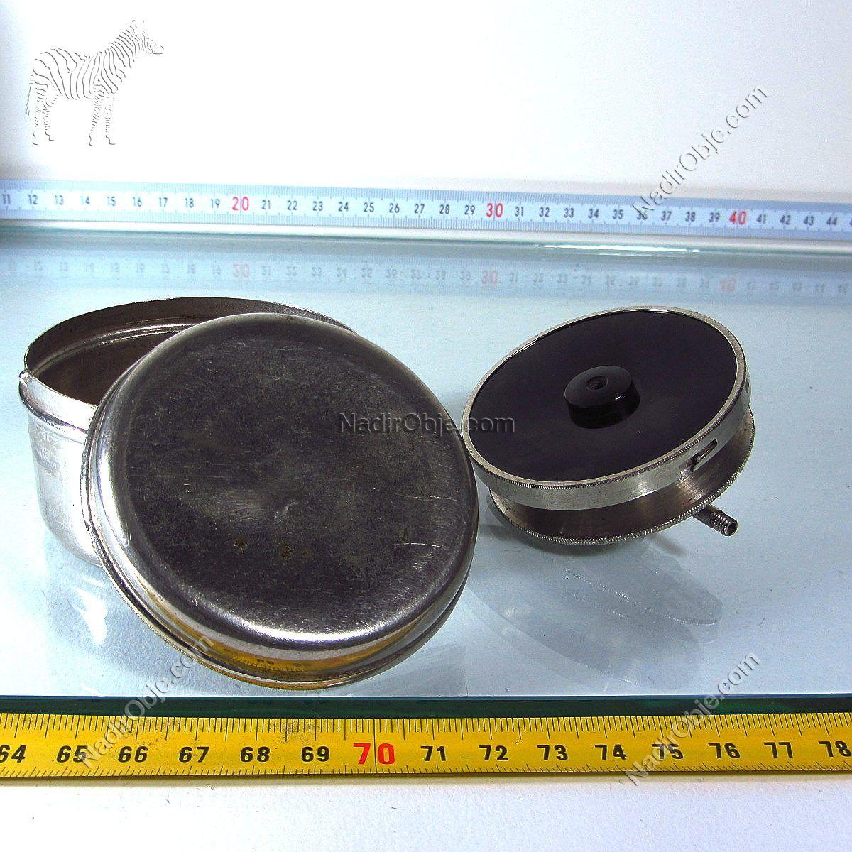 Antika Steteskop Metal Objeler Antika