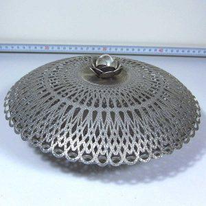 Aluminyum Şekerlik Metal Objeler Aluminyum