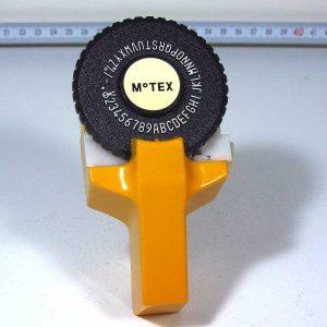 MoTEX Yazı Yazma Makinası Mekanik-Elektrikli Objeler Motex
