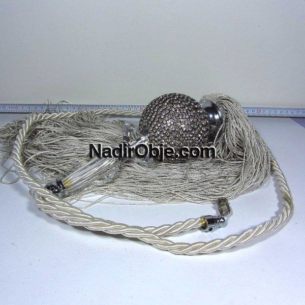 Perde İpi Deri-Kumaş-Tekstil İp